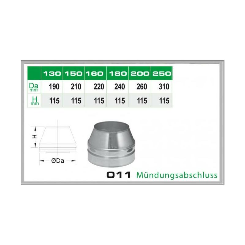 011-DN180 DW5 Mündungsabschluss
