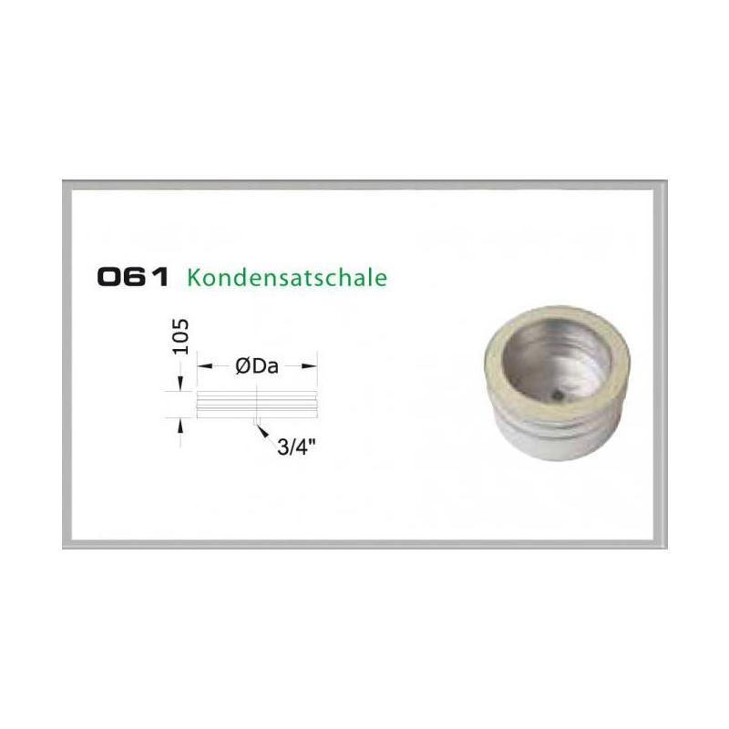061-DN200 DW5 Kondensatschale