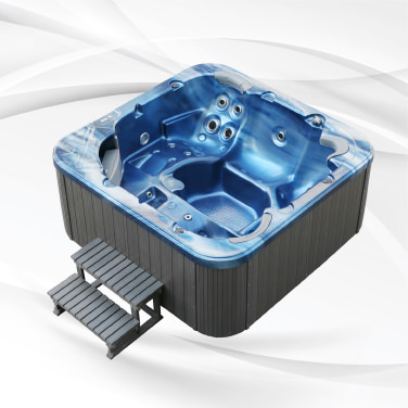 American Outdoor Whirlpool Torina Ocean Blue - Grey 215x215cm