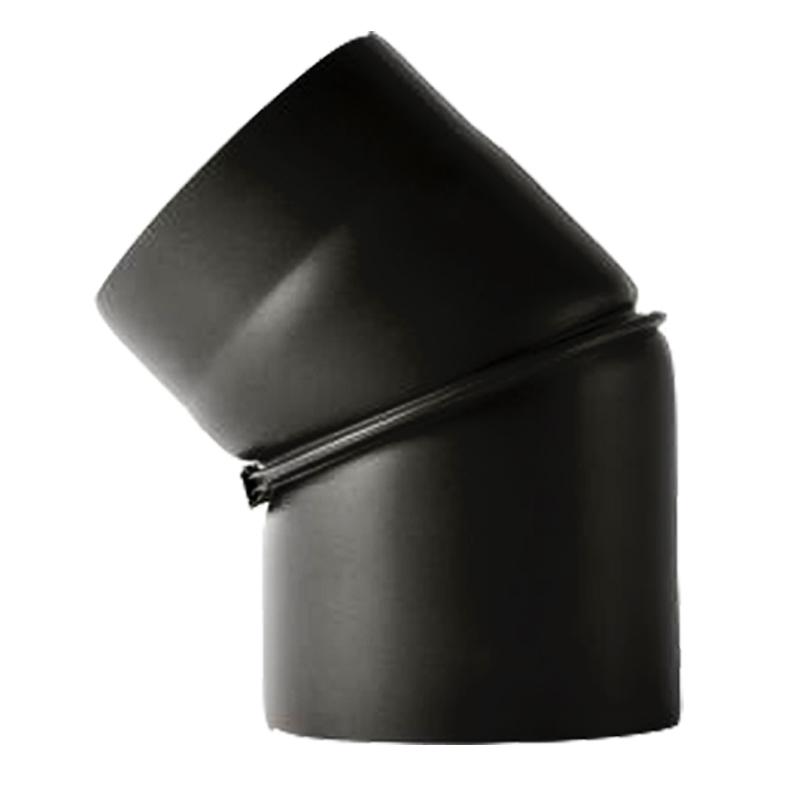 Bogen 45- ohne Tür verstellbar 0-45- -120 schwarz -310