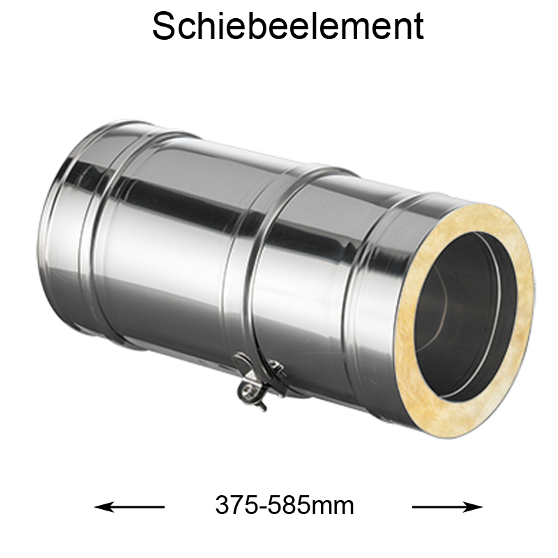 DW Complete Schiebeelement 375-585mm 150mm