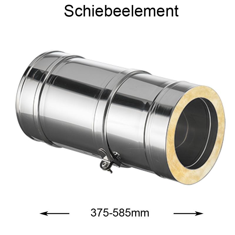 DW Complete Schiebeelement 375-585mm 180mm