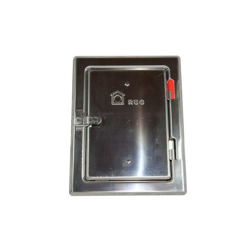 Edelstahlkamintüre V2A I-14x20-A-22-28