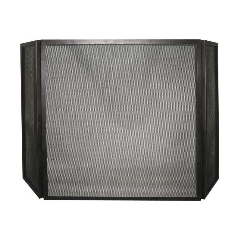 Funkenschutz-Gitter schwarz 3tlg-