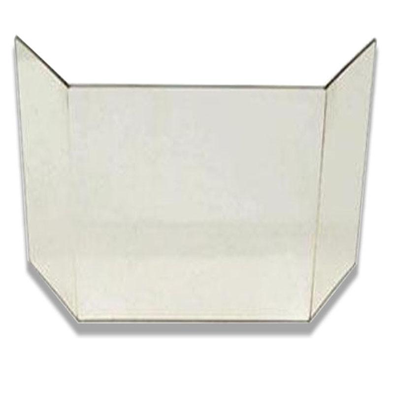 Glasscheibe komplett passend für Kaminofen Corner Cera Canto von Eurotherm