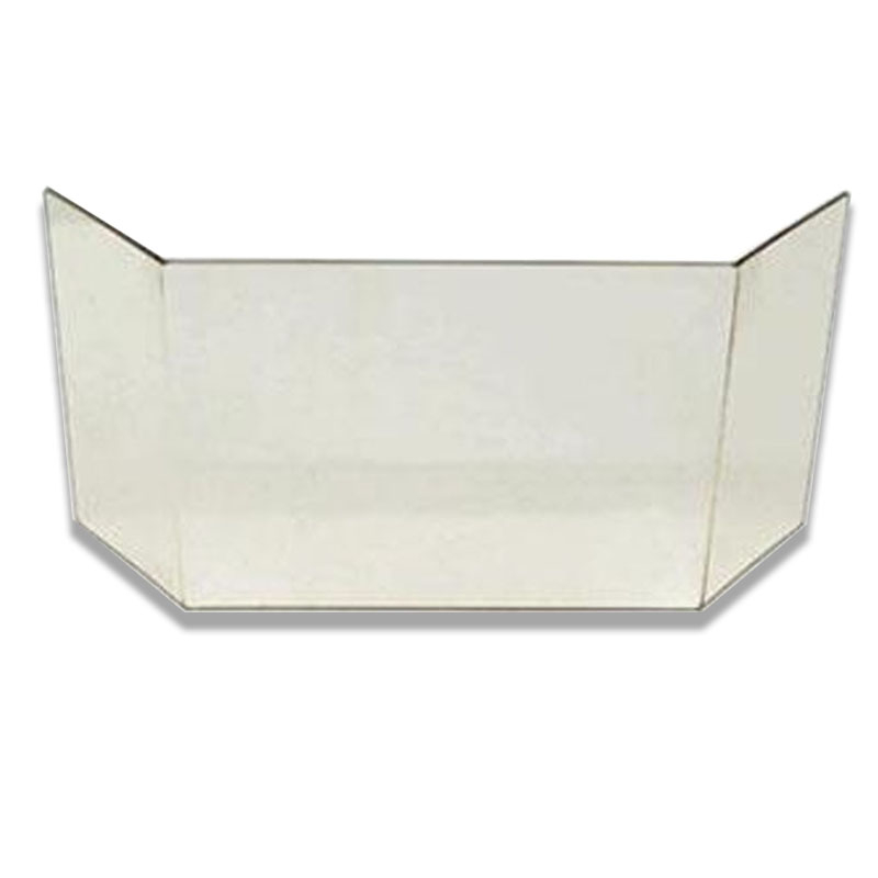 Glasscheibe komplett passend für Kaminofen Topas Elba Esagon von Eurotherm