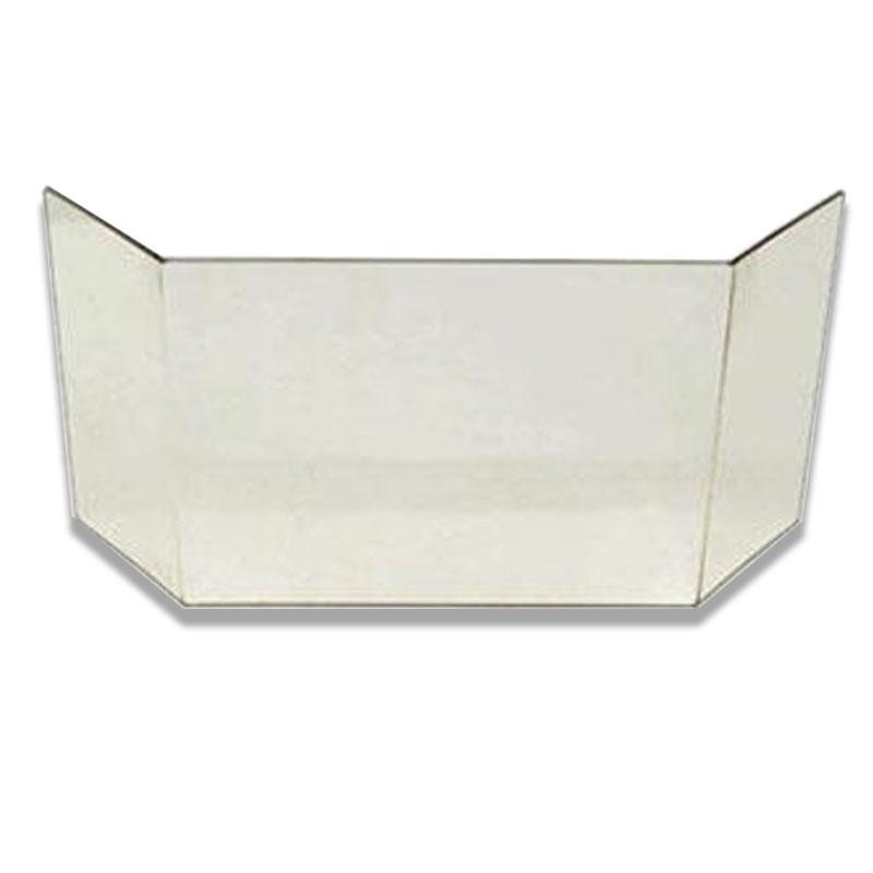 Glasscheibe passend für Kaminofen Typ 10187-11187 von Wamsler