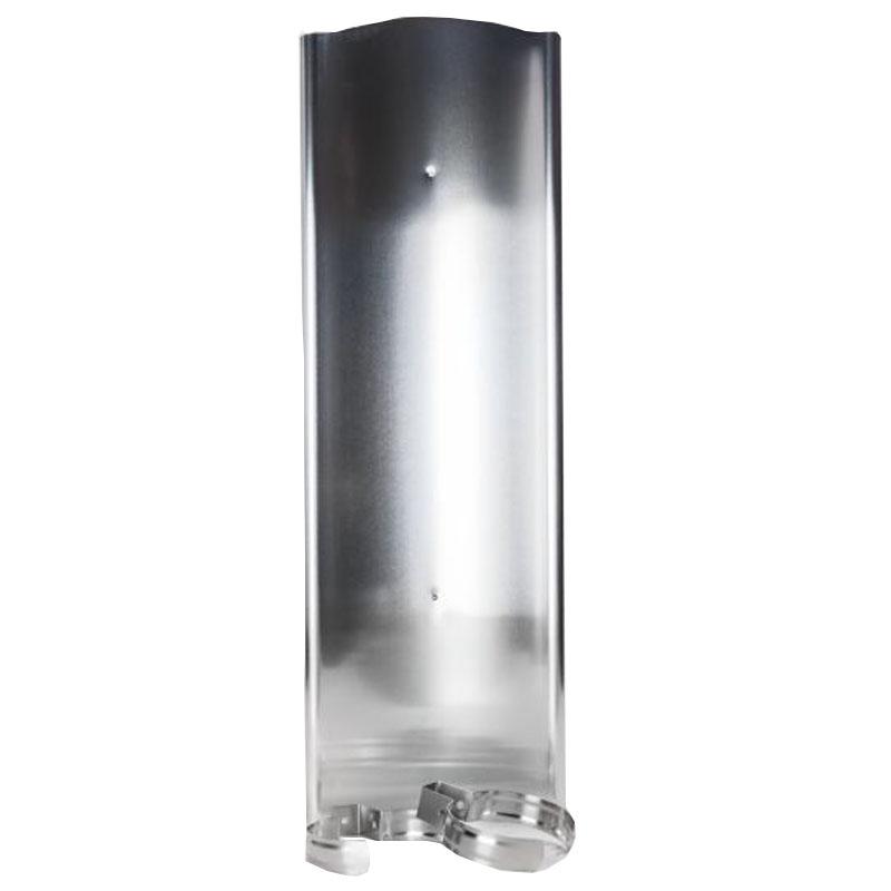 Hitzeschild aus Aluminium 65cm