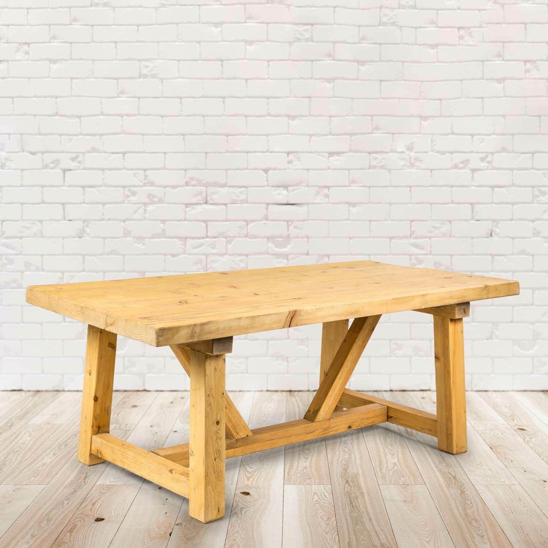 Holztisch Amora Rustico- 200x100x76