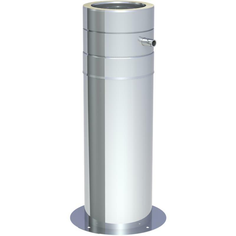 Jeremias DW ECO 2-0 Teleskopstütze 250-690 mm inkl- Teleskopkopf m- Ablauf seitl-
