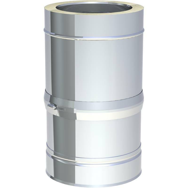 Jeremias DW-FU Schiebeelement für waagerechte Verbindungsleitung 320- 460 mm verstellbar