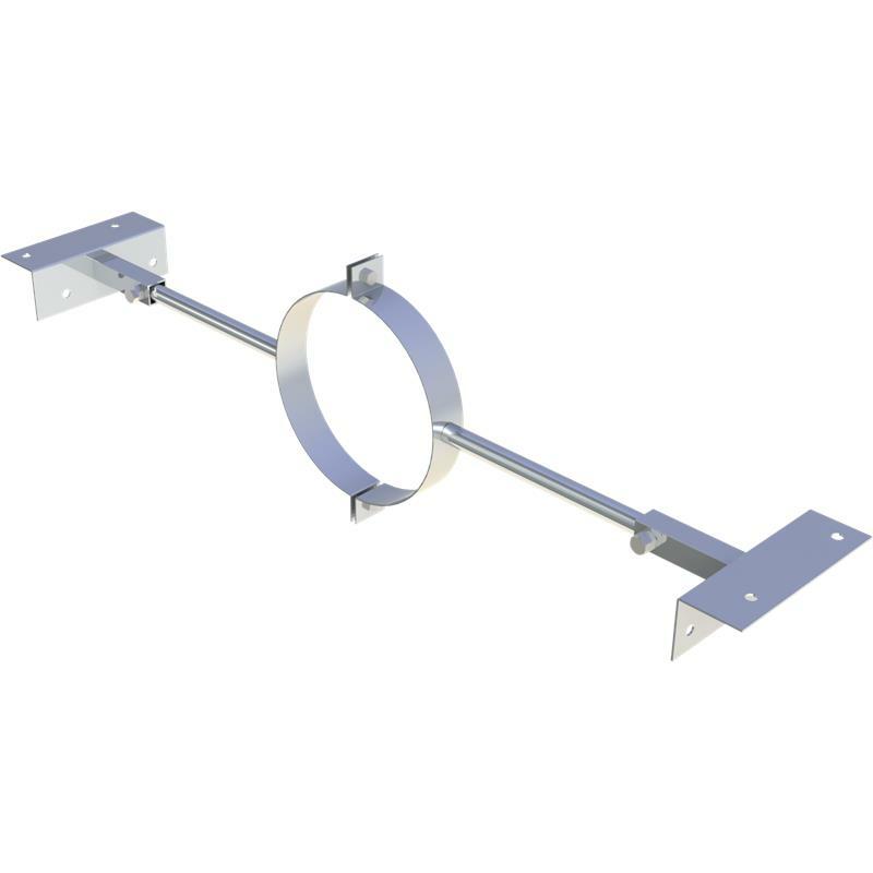 Jeremias DW-FU Sparrenhalter verstellbar 500 - 900 mm