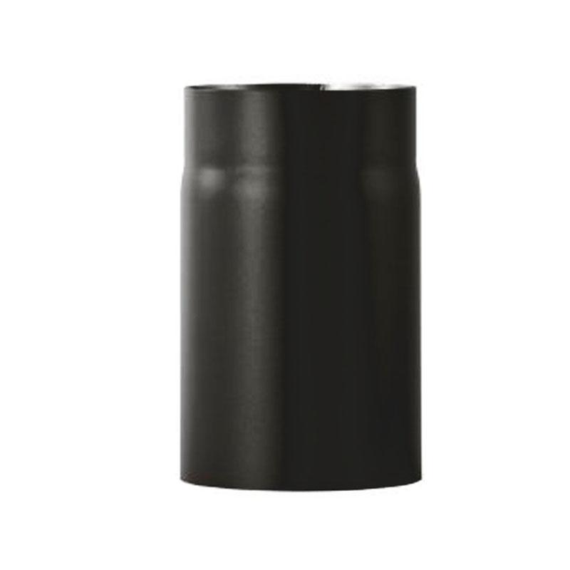 Kaminofenrohr 0-25m - 180 schwarz -310