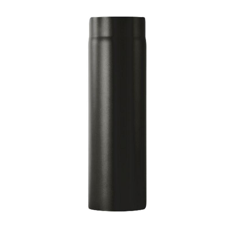 Kaminofenrohr 0-75m - 120 schwarz -310