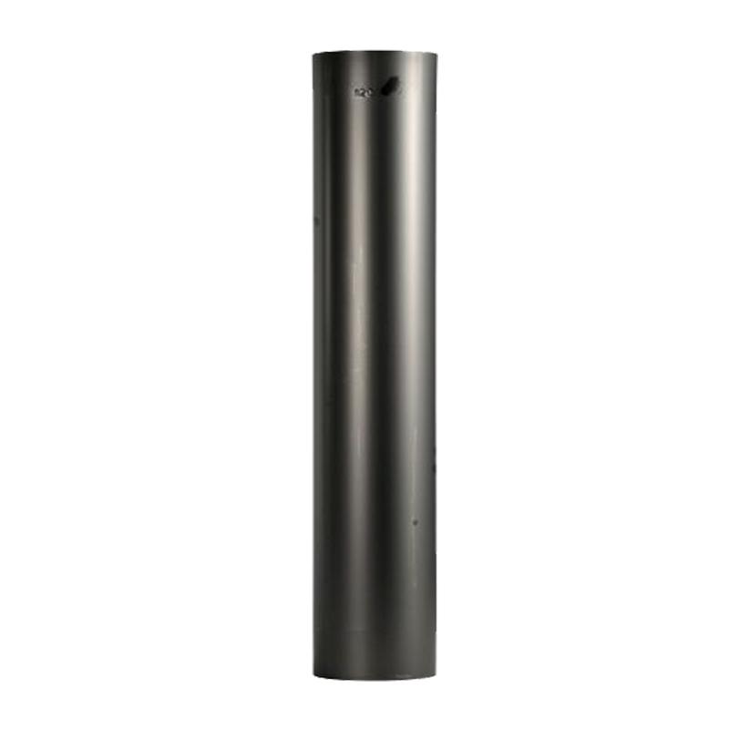Ofenrohr 0-75 m gebläut DN 120mm