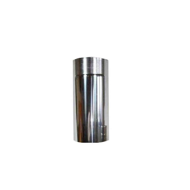 Ofenrohr Edelstahl - Länge 0-25m DN 130mm