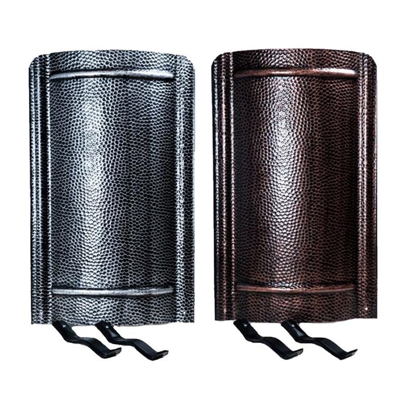 Ofenschirm gehämmert 90x40 cm verschiedene Ausführungen