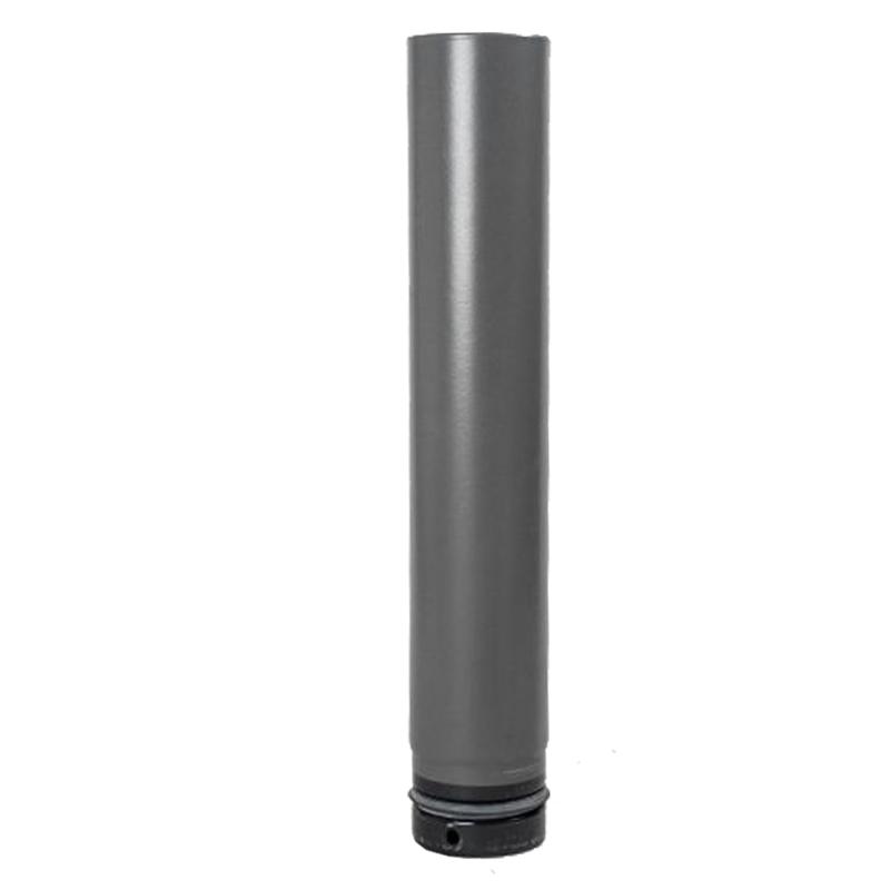 Pellet- Ofenrohr 0-75m DN 80mm gussgrau emailliert