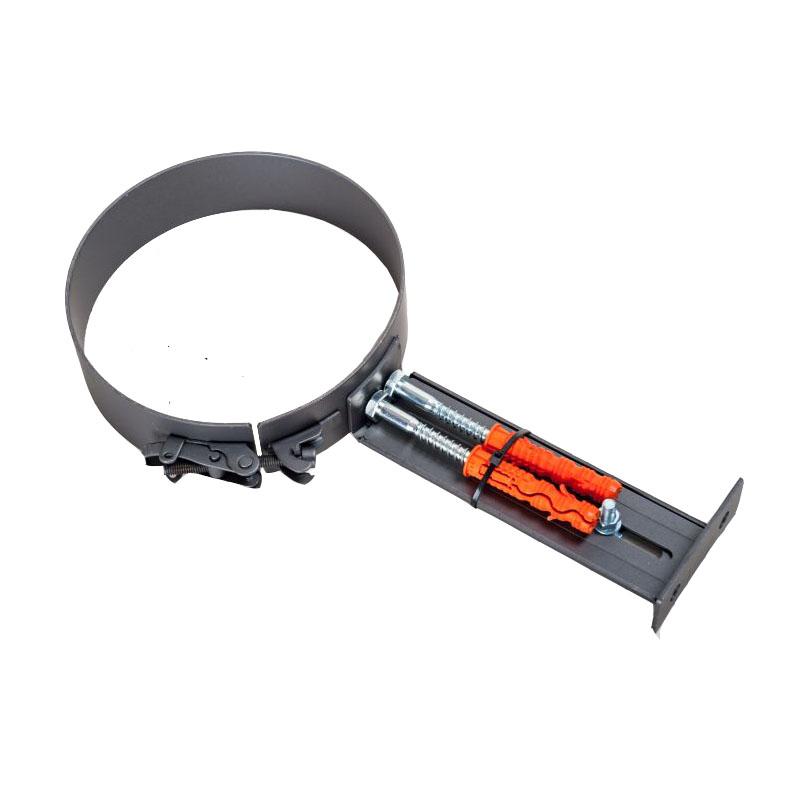 Rohrhalterung für 2mm Rohr Gussgrau -130 - 288