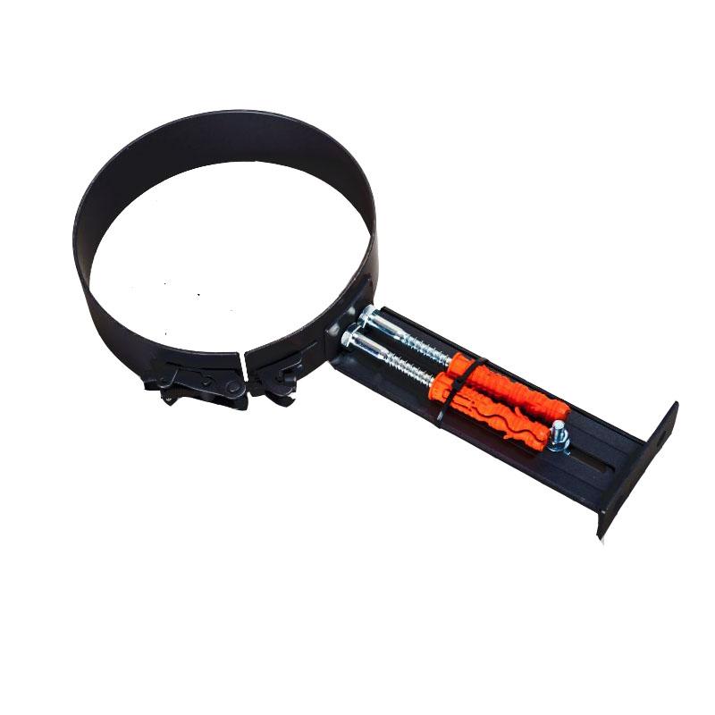 Rohrhalterung für 2mm Rohr schwarz -160 - 310