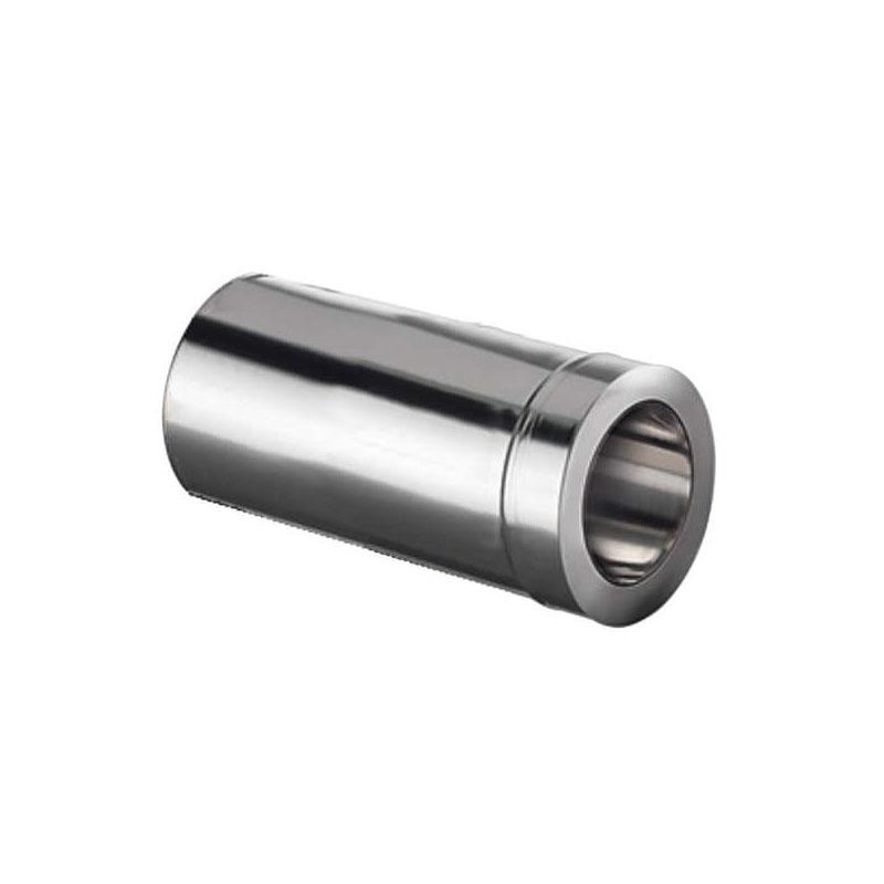 Schiedel Doppelwandfutter DN 80mm gedämmt- kürzbar für ICS DN 130mm