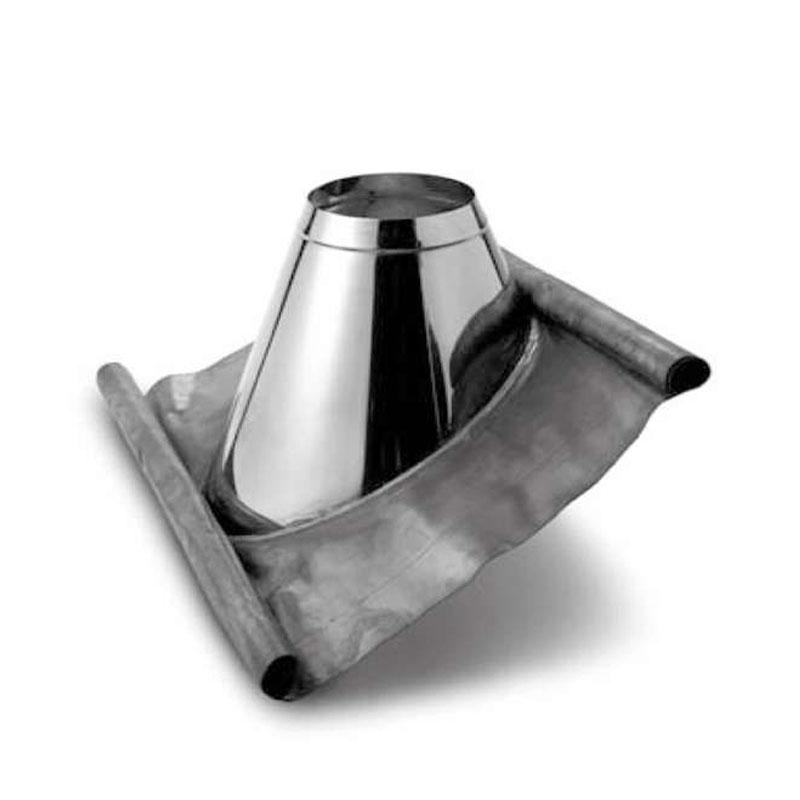 Schiedel ICS Dachdurchführung mit Bleirand 36-45- Stutzen 200mm für DN 80mm und DN 100mm