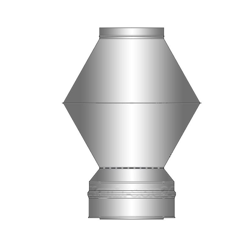 Schiedel ICS Deflektorhaube DN 80mm