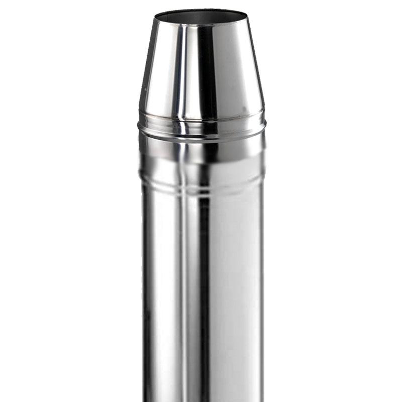 Schiedel ICS Mündungsrohrelement 1000mm DN 180mm