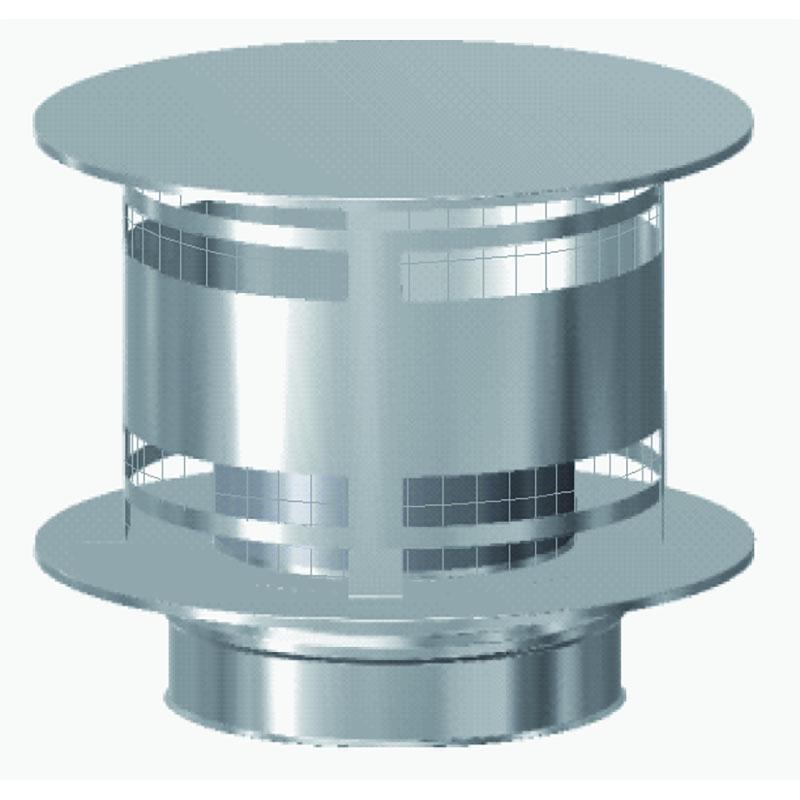 Schiedel ICS Regenhaube AntiSplash mit Funkenschutzgitter DN 180mm