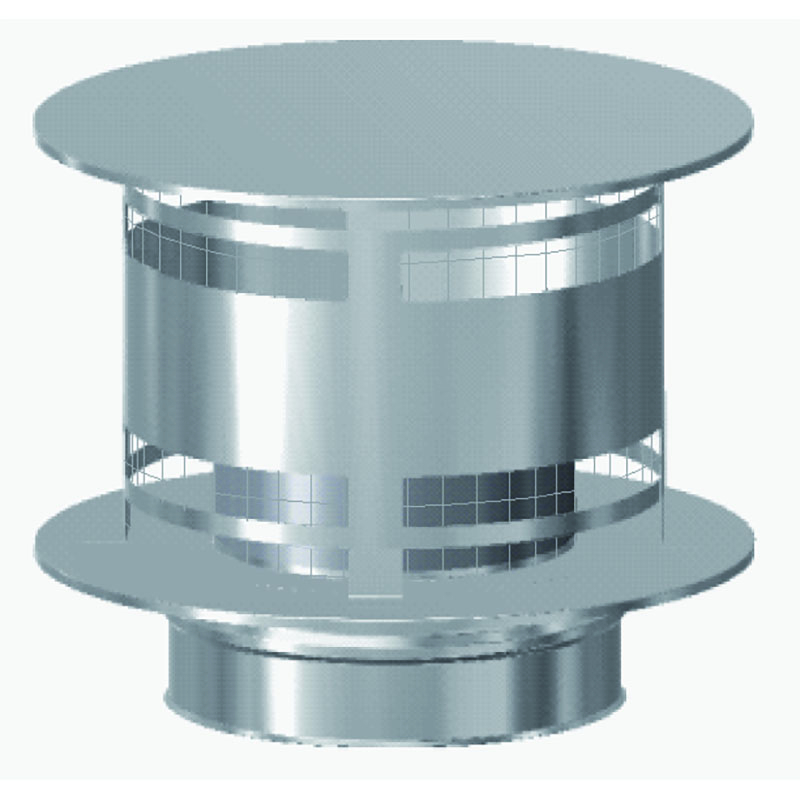 Schiedel ICS Regenhaube AntiSplash mit Funkenschutzgitter DN 230mm
