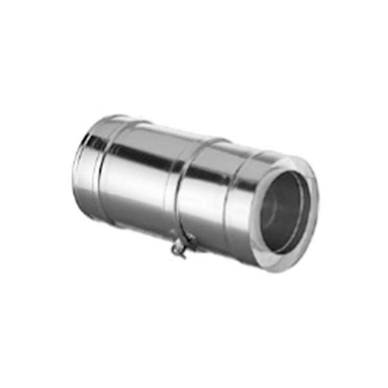 Schiedel ICS Rohrausgleichselement 375-585mm DN 130mm