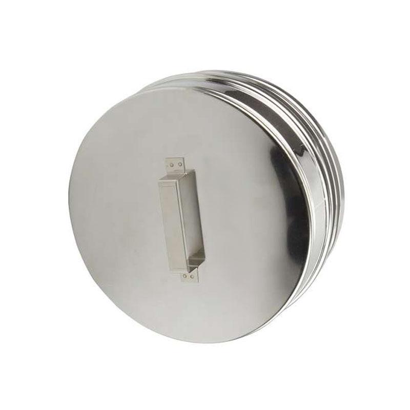 Schiedel ICS Verschlussdeckel für Rauchrohranschluss DN 130mm