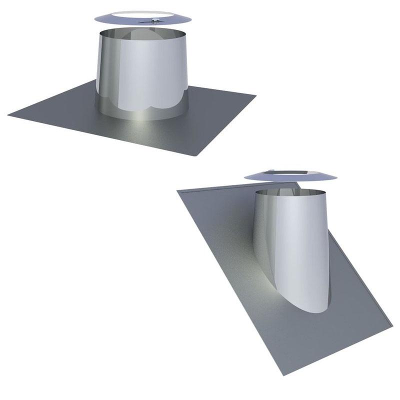 Tecnovis Dachdurchführungen in verschiedenen Ausführungen