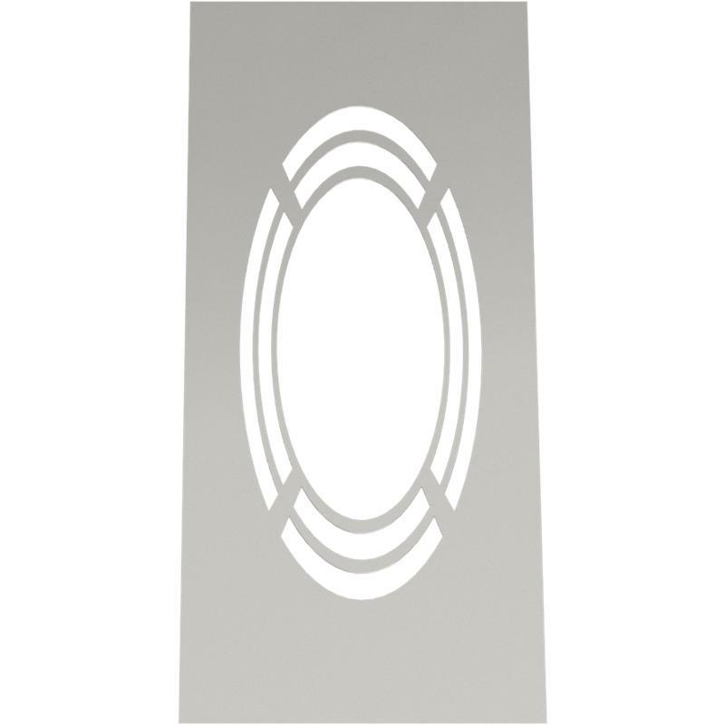 Tecnovis DW-Classic Wand- Deckenblende- einteilig 1-65- mit Hinterlüftung
