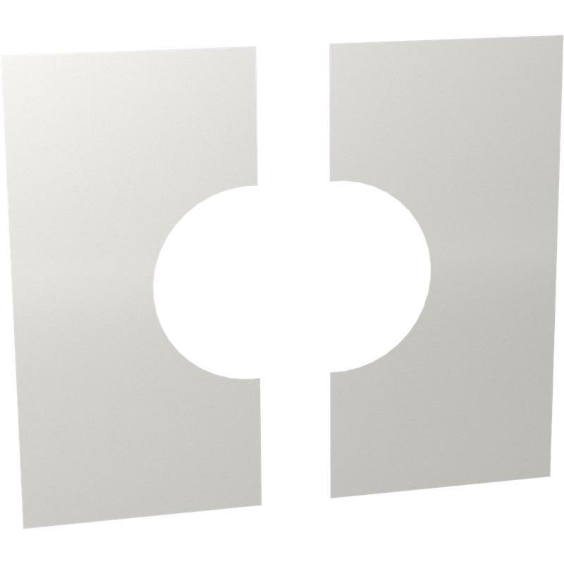 Tecnovis DW-Classic Wand- Deckenblende- zweiteilig 0-