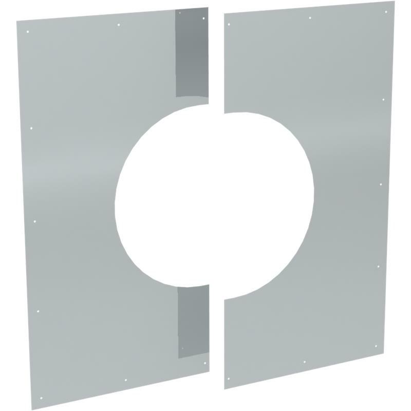 Tecnovis DW-Classic Wand- Deckenblende- zweiteilig 1-65-
