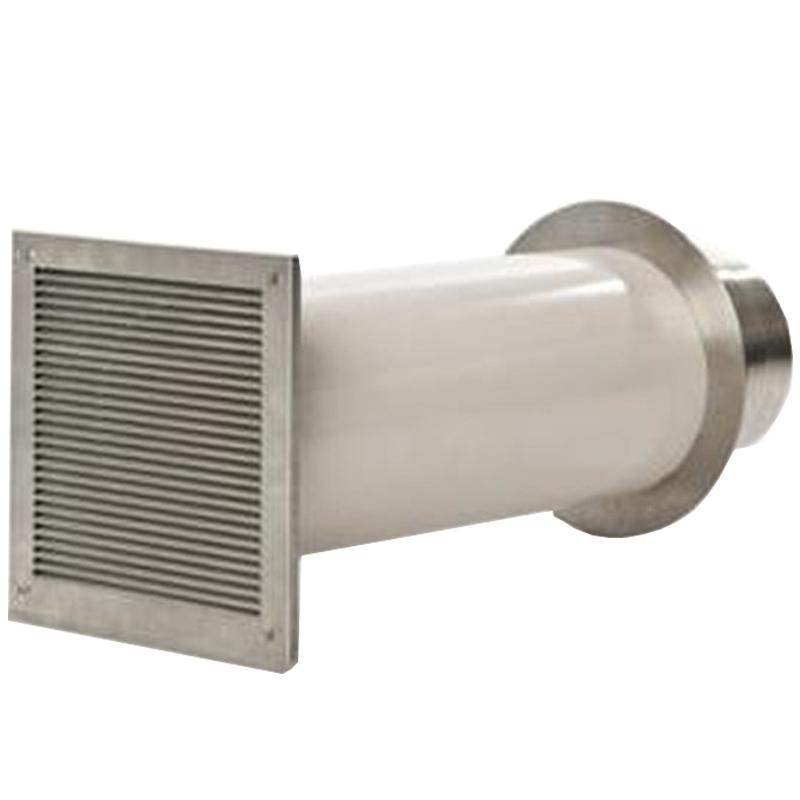 Verbrennungsluftsystem mit Einzelklappe (VLS) Zuluft-Set für Kamin