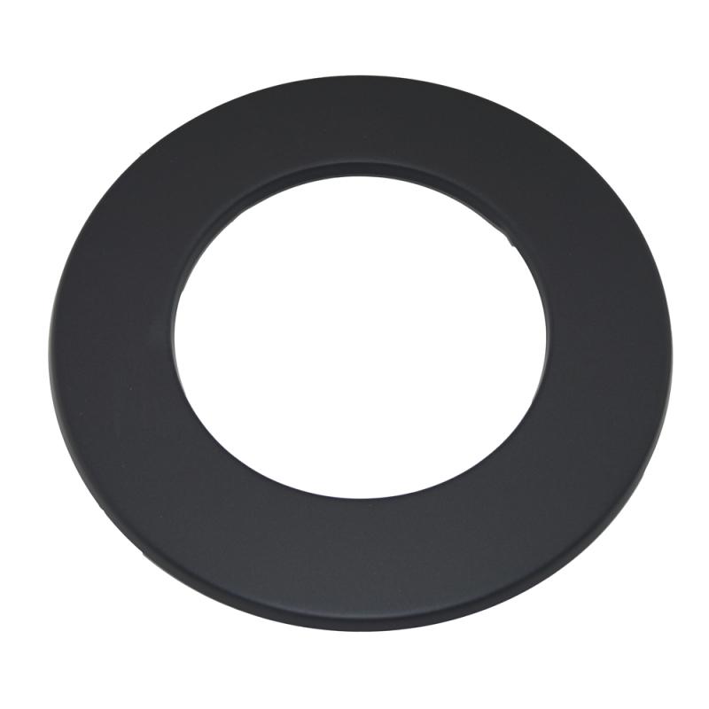 Wand-Rosette - 160 schwarz -310