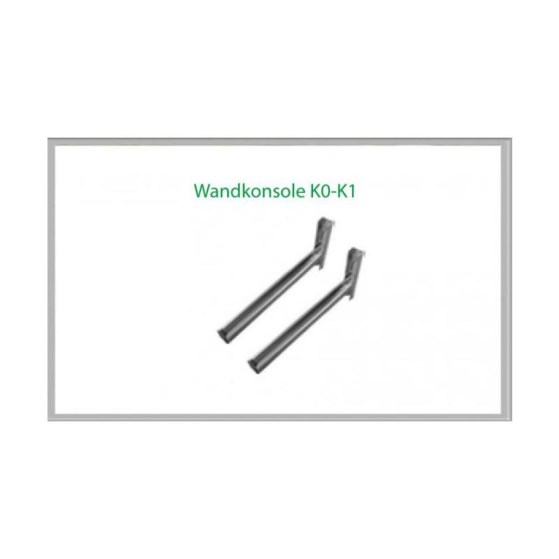 Wandkonsole K1 490mm für Schornsteinsets 180mm DW5