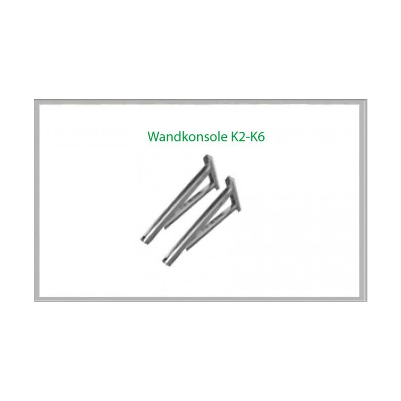 Wandkonsole K5 854mm für Schornsteinsets 200mm DW5